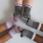 Socks for 14″ Dolls – Free Knitting Pattern!