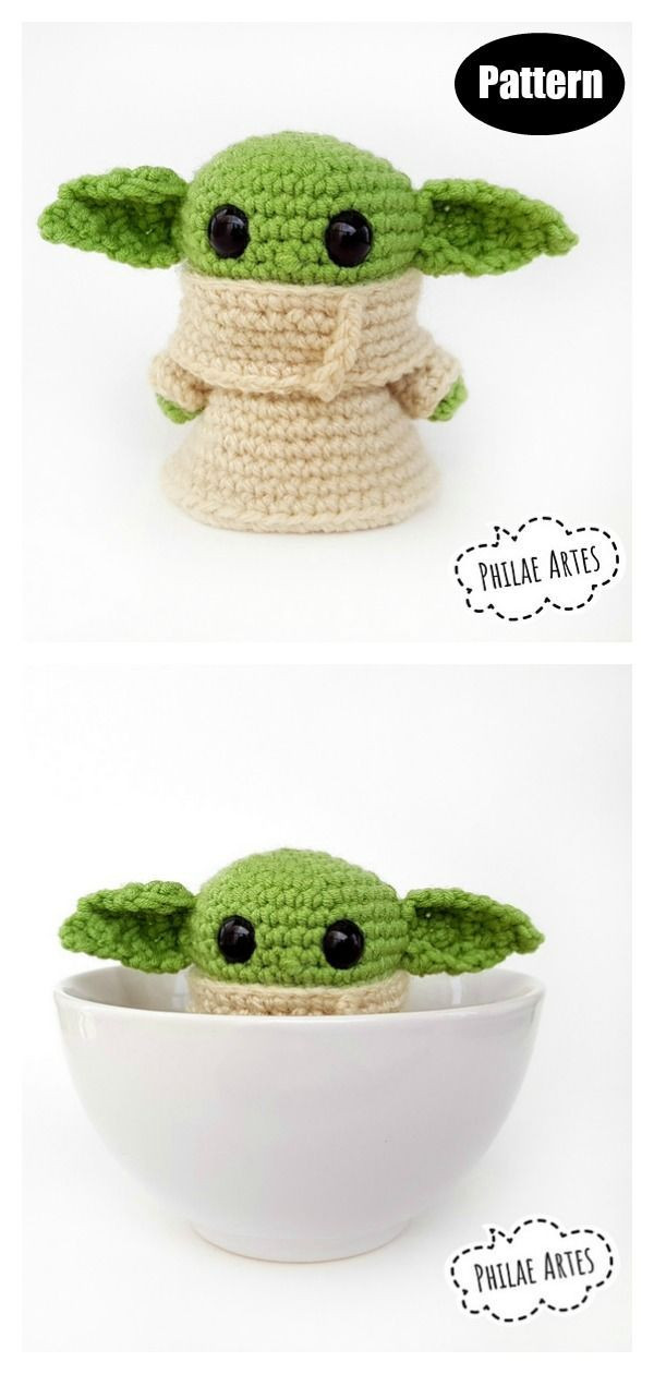 Star Wars Yoda Crochet Patterns