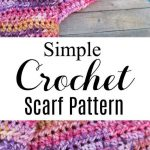 Super Simple Crochet Scarf Pattern With Video! - lw vogue