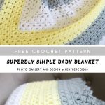 Superbly Simple Baby Blanket - Baby Wear