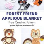Sweet and Easy Crochet Applique Free Patterns