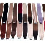 Tape In Extensions Hair Extensions 2.5g and 2g Wefts 100 Human Hair Remy Hair # ...