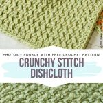 Textured Crochet Washcloths Free Patterns - Free Crochet Patterns