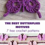 The Best 10 Butterfly Motifs and 7 Crochet Patterns Free
