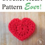 The Easiest Heart Crochet Pattern Ever! - Crochet and Knitting Patterns