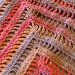 The Lydia Shawl pattern by Denise Crawford