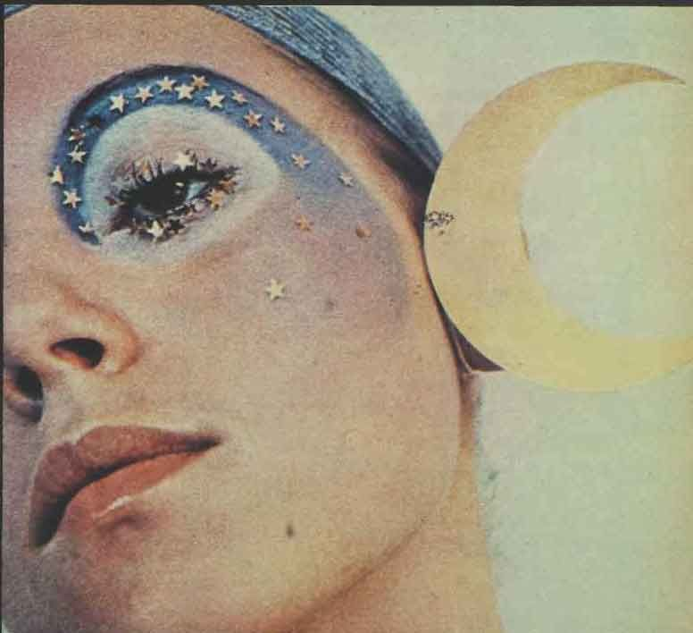 The Seventies Face – Make-up for 1971 | Glamour Daze