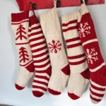 The little joys of the festive season in knitted christmas stockings - fashionarrow.com