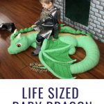 This Life Sized Baby Dragon Crochet Pattern Will Blow Your Mind