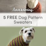 Top 5 free dog sweater knitting patterns | LoveCrafts, LoveKnitting's New Home
