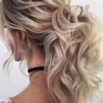 Voluminous Curly Ponytail Hairstyle For Prom Night #ponytail ★ It is high time...