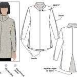 Women's Sewing Pattern - Mavis Knit Tunic  - Sizes 10, 12, 14 - Knit Tunic Sewing Pattern by Style Arc