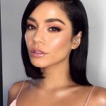 """Makeup Artist Patrick Ta on Instagram: """"AMA's Pretty In Pink @vanessahudgens Hair By @chadwoodhair Makeup By @patrickta Assisted By @jentioseco Using @desiperkins @katy…"""""""