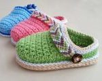 baby shoes crochet patterns - baby gift - crochet pattern pdf - amorecraftylife....