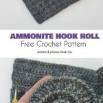 Ammonite Hook Roll Free Crochet Pattern