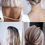 classic updo wedding hairstyle for medium length - Life with Alyda