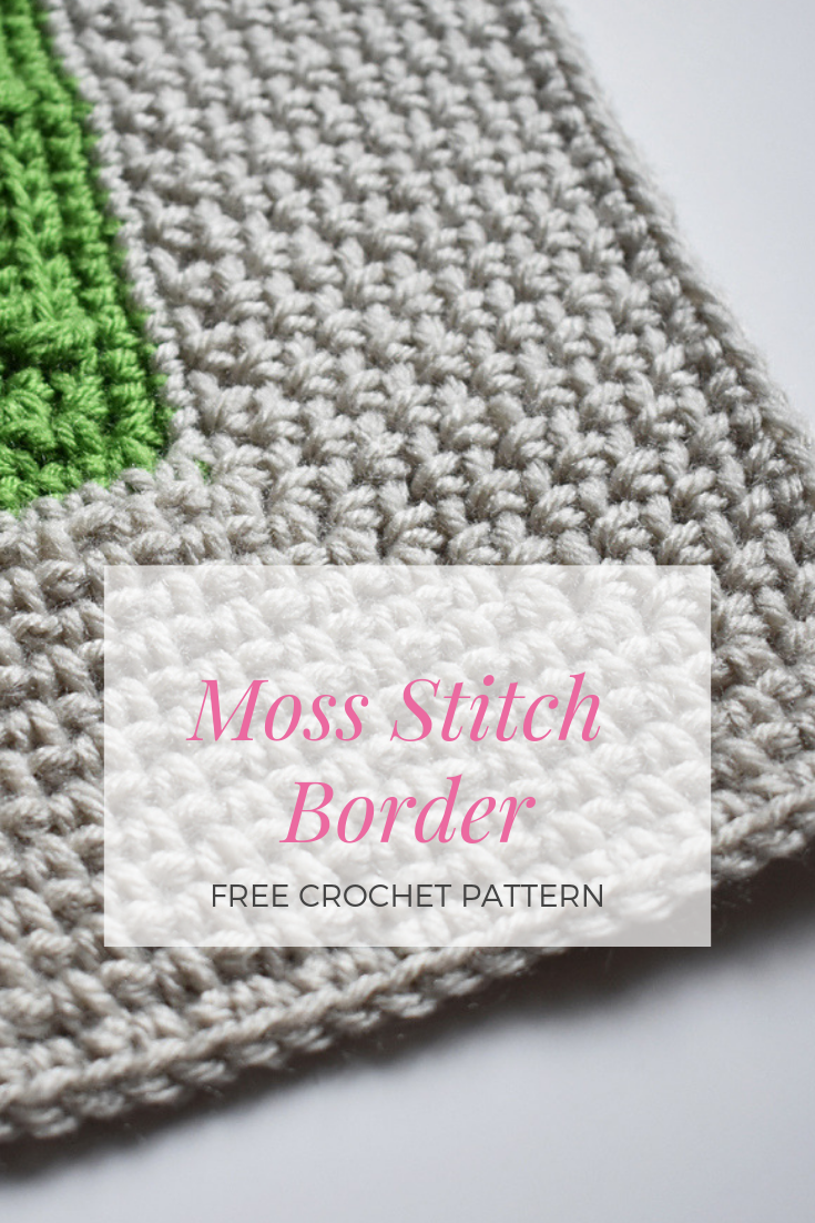 Impress Everyone With This Simple And Beautiful Moss Stitch Border – Knit And Crochet Daily