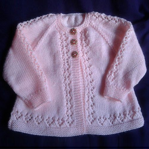 free knitting patterns for babies cardigans double knit knitted baby clothes · beauty baby cardigan – free pattern IFCAUQR… – Crochet and Knit